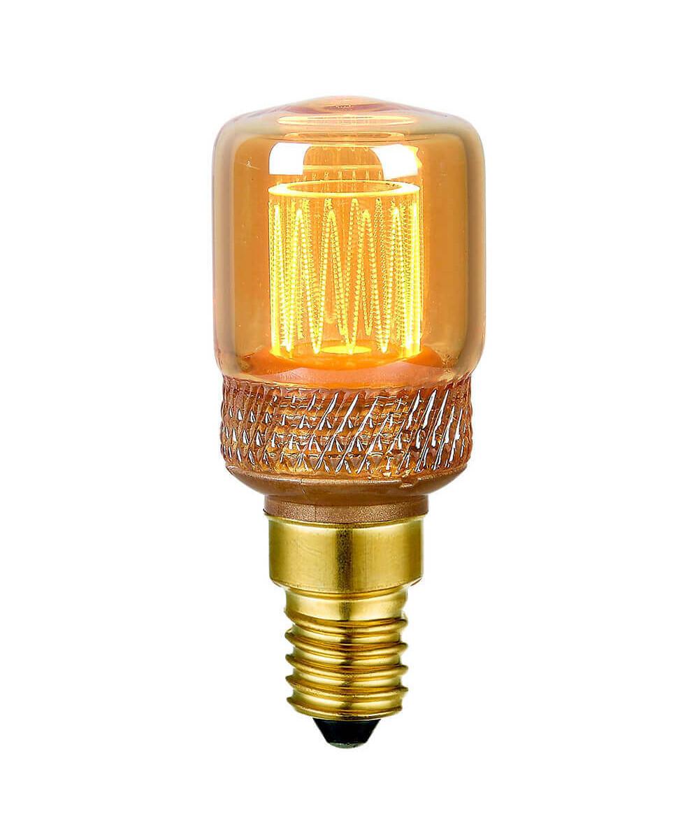 Pære LED 2,3W (130lm) Dæmpbar Mini Krone E14 - Colors