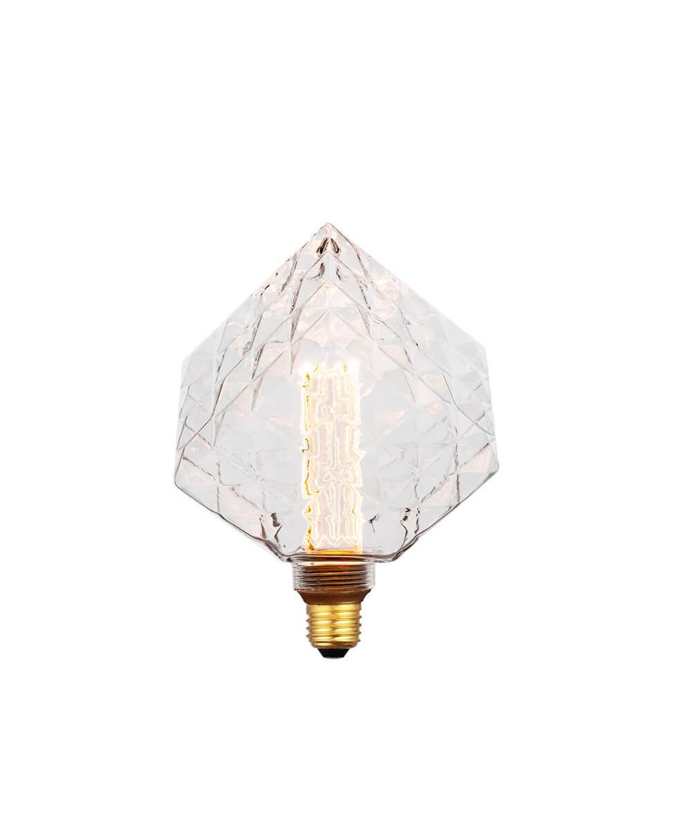 Pære LED 5W (40-200lm) 3-step Facet Boxy E27 - Colors