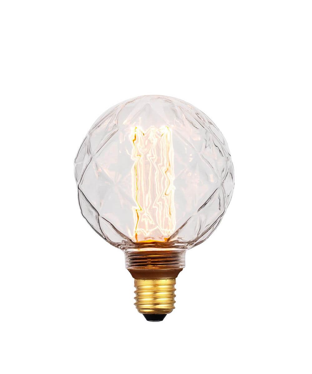 Pære LED 5W (40-200lm) 3-step Facet Mini Globe E27 - Colors