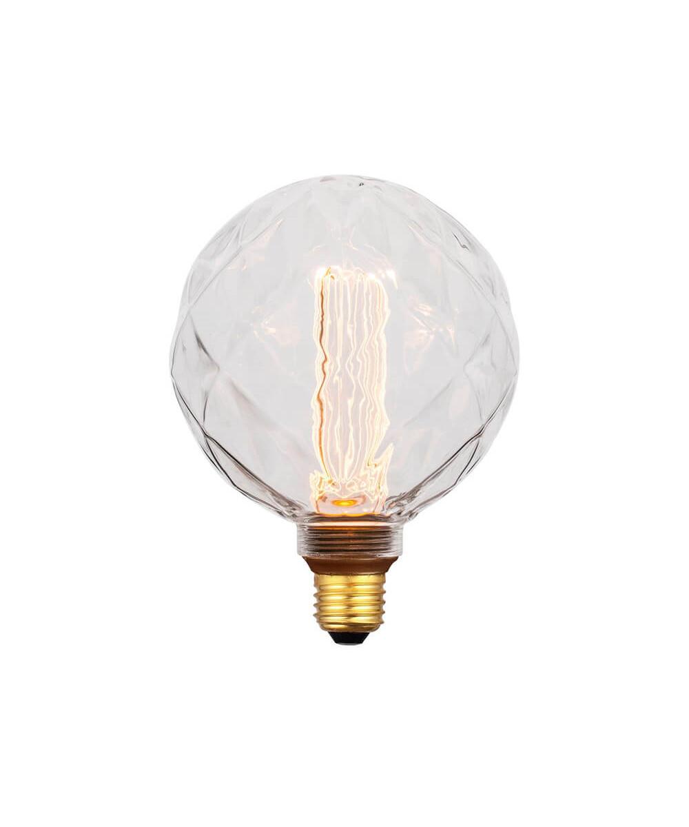 Pære LED 5W (40-200lm) 3-step Facet Globe E27 - Colors