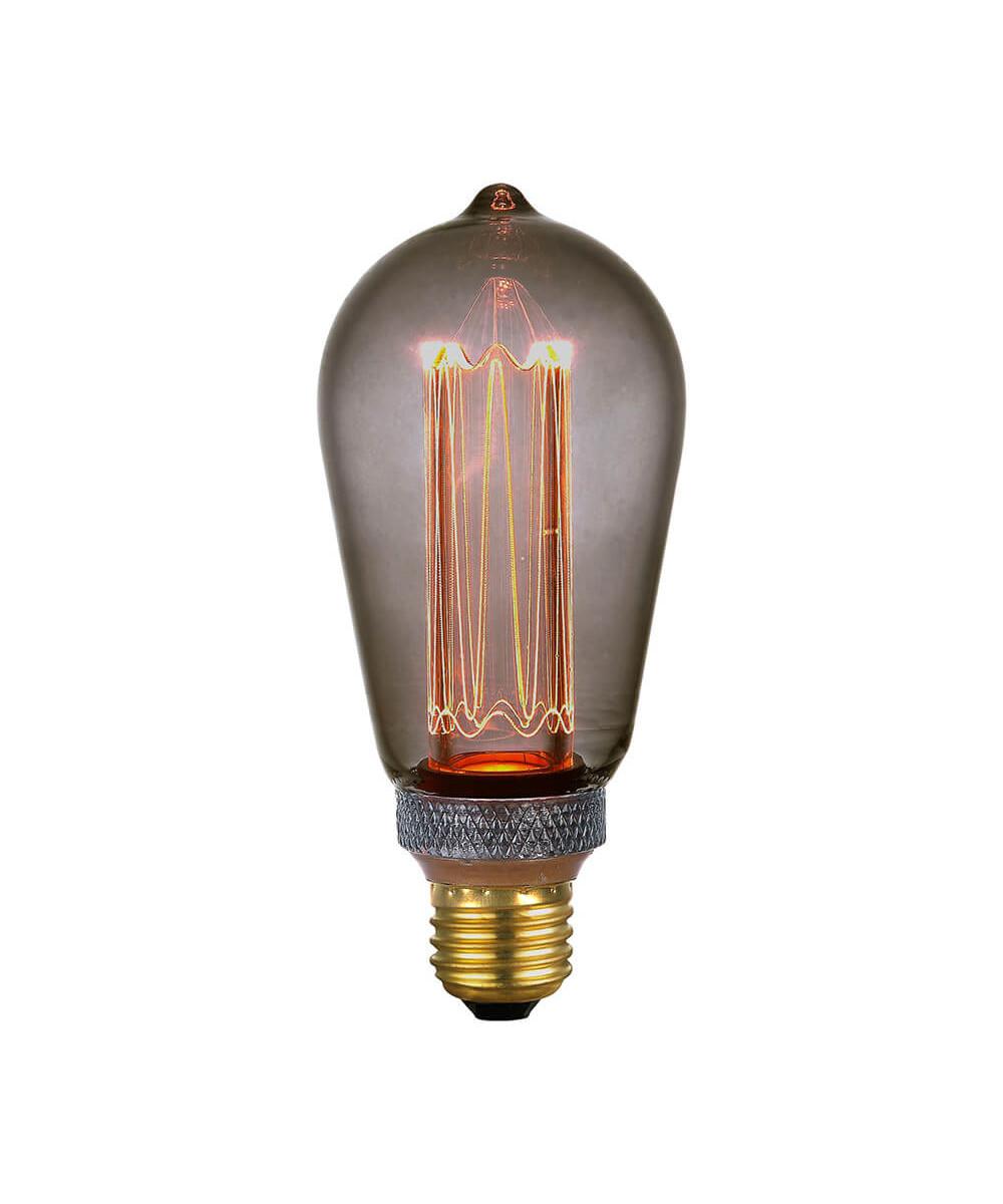 Pære LED 5W (40-200lm) 3-step Smoke E27 - Colors