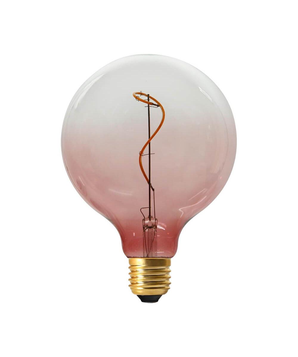 Pære LED 4W (40-200lm) 3-step Rose E27 - Colors