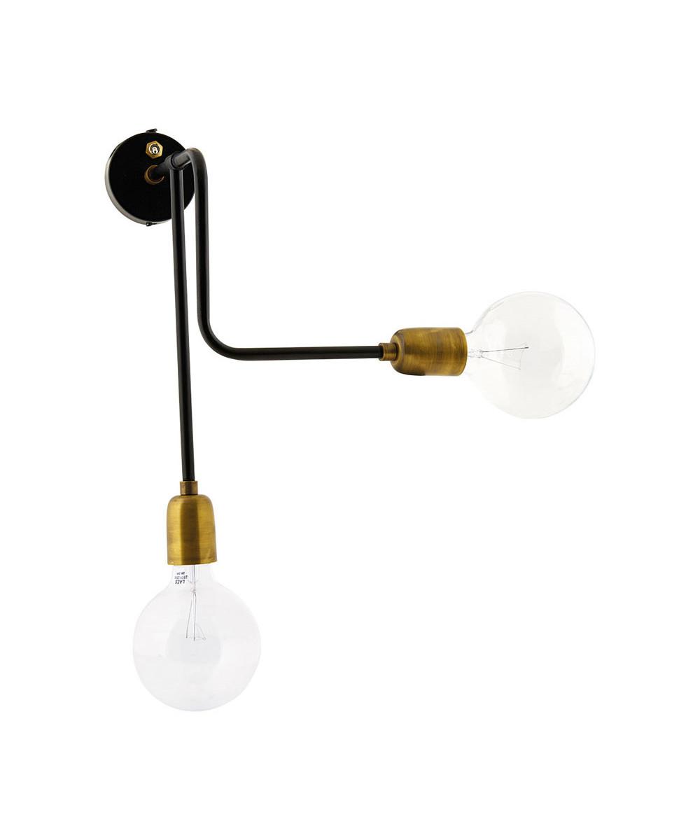 Molecular Væglampe 2-lys - House Doctor