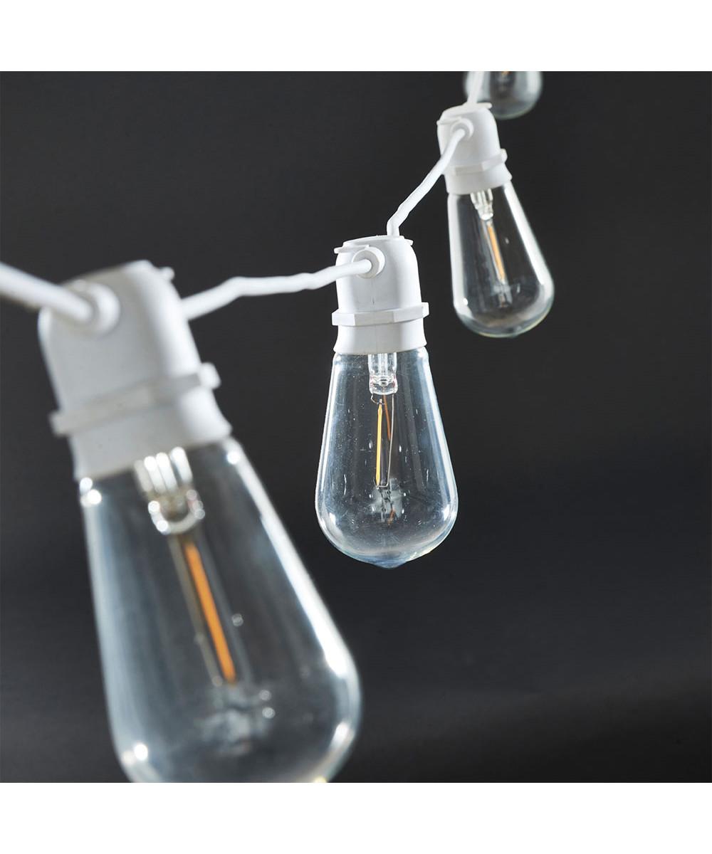 Function Lyskæde 8,4m Aflang Hvid - House Doctor