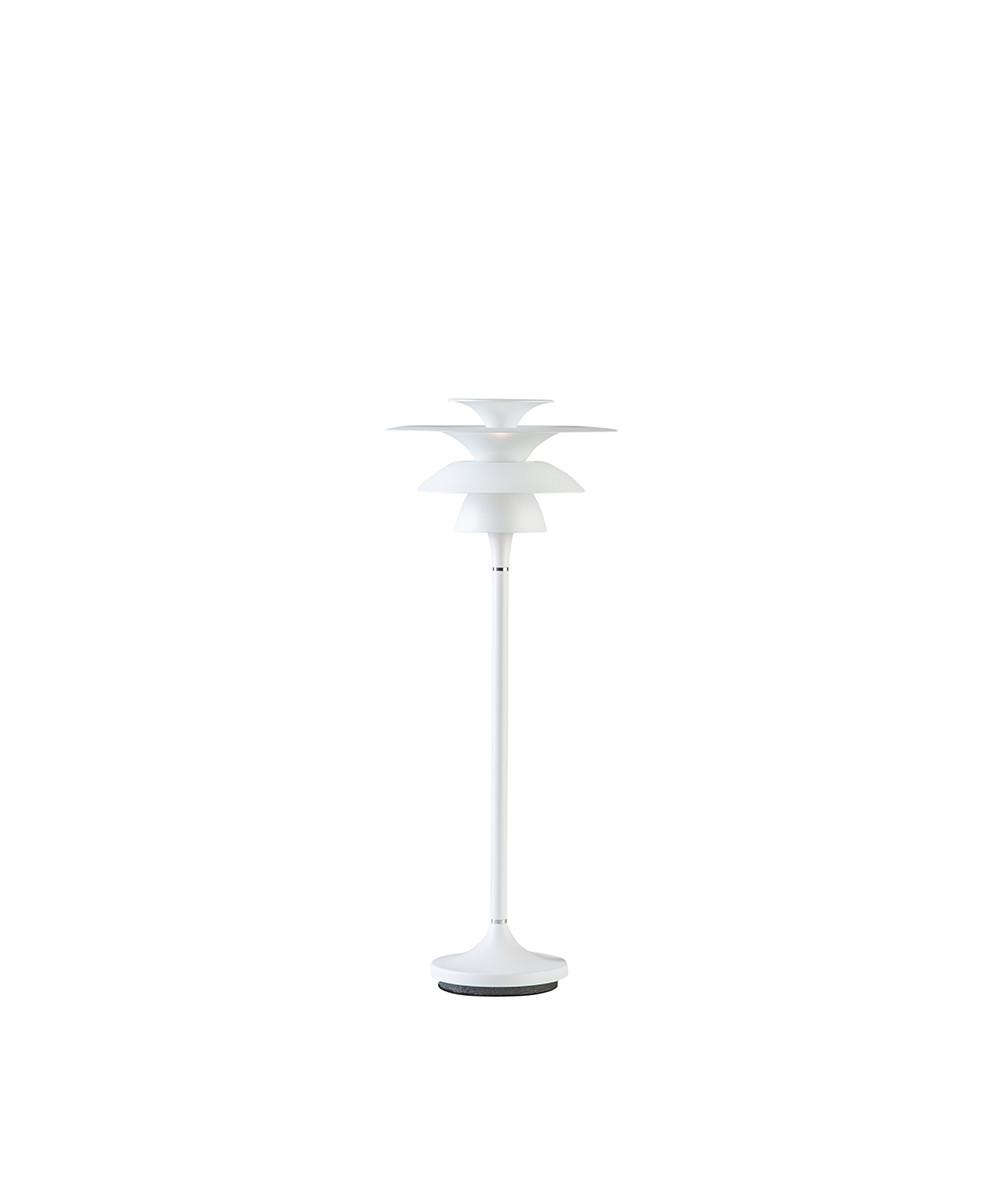 Picasso Bordlampe H465 Mat Hvid LED - Belid