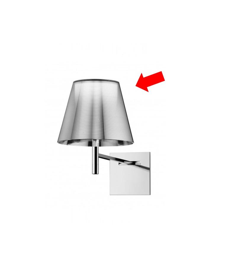 Skærm til Ktribe W Væglampe Alu Sølv - Flos