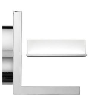 Hide L Hvid LED Væglampe - Flos