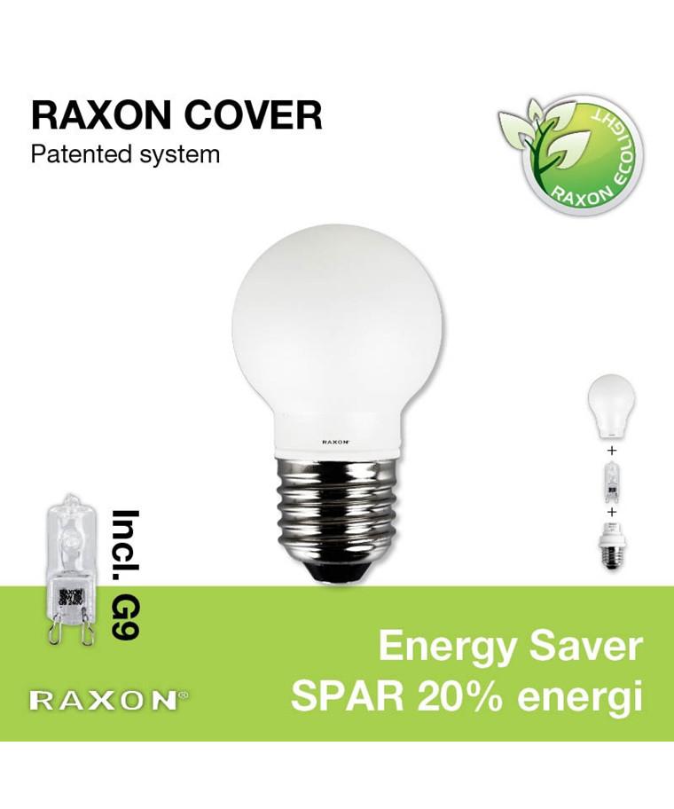 Pære 33W Globe Cover Ø45 Krone E27 - Raxon
