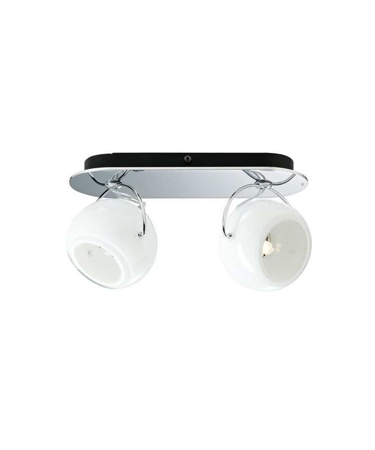 Beluga Væglampe/Loftlampe 2 Spot Hvid - Fabbian