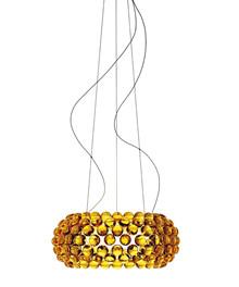 Caboche Medium LED Pendel Gul Guld Dimmable - Foscarini
