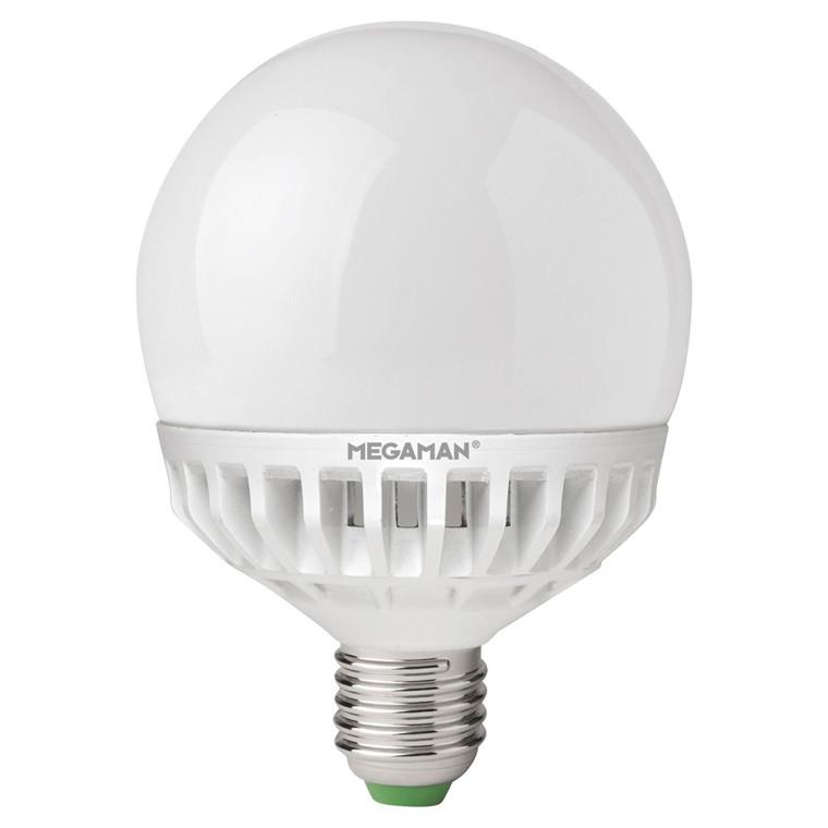 Pære LED 14W (810 lm) Globe Ø120 Dæmpbar - Megaman