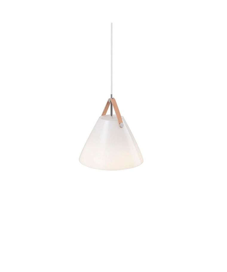Strap 27 Pendel Lampe Opal glas - Nordlux