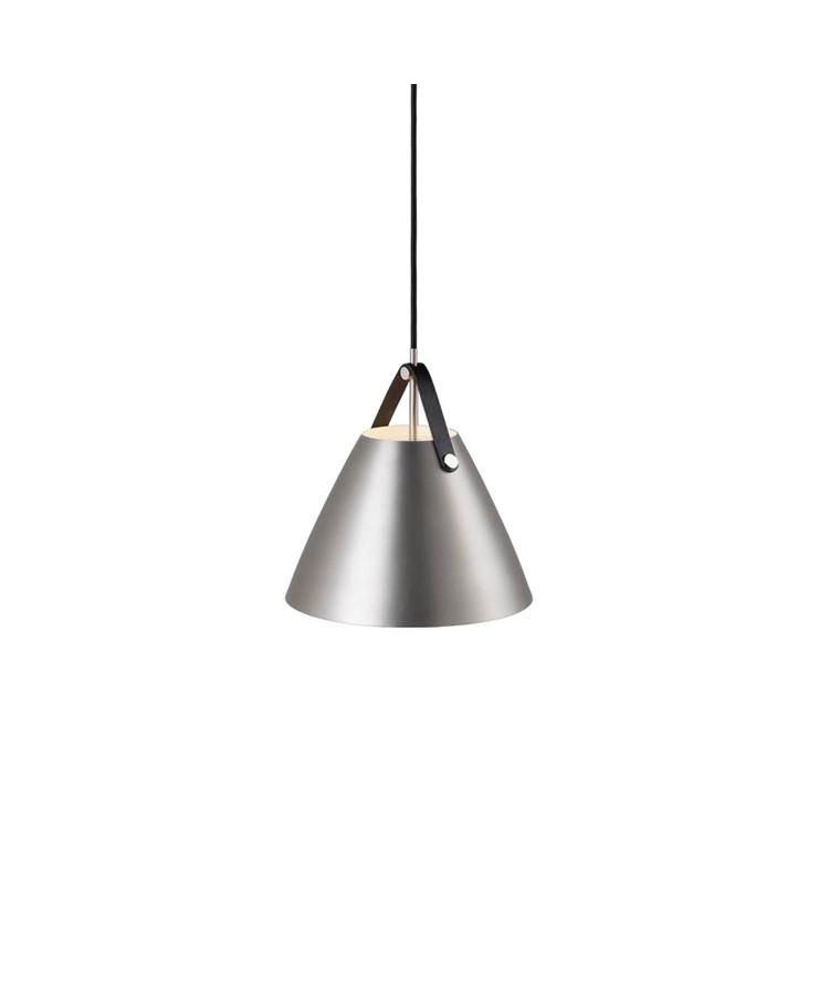Strap Pendel Lampe 27 Børstet Stål - Nordlux