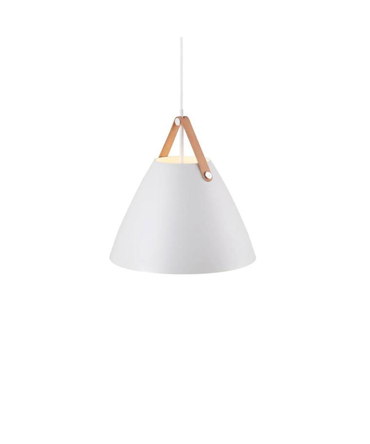 Strap Pendel Lampe - Hvid - Nordlux