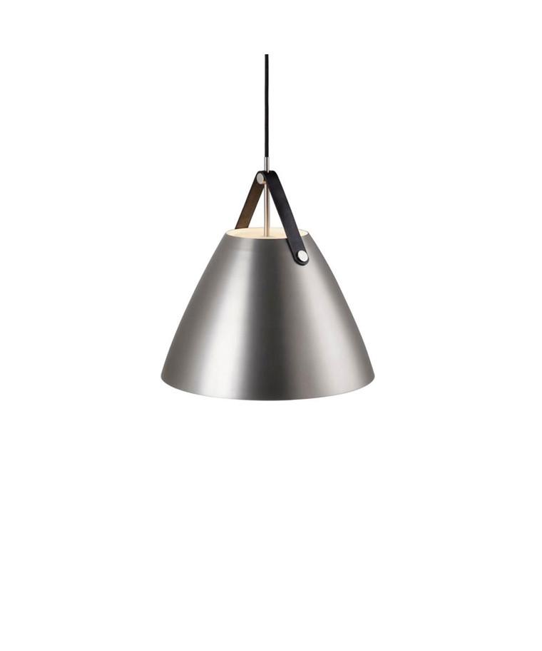 Strap Pendel Lampe 36 Børstet Stål - Nordlux