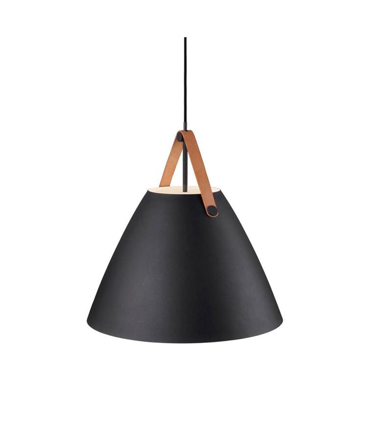 Strap Pendel Lampe - Sort - Nordlux