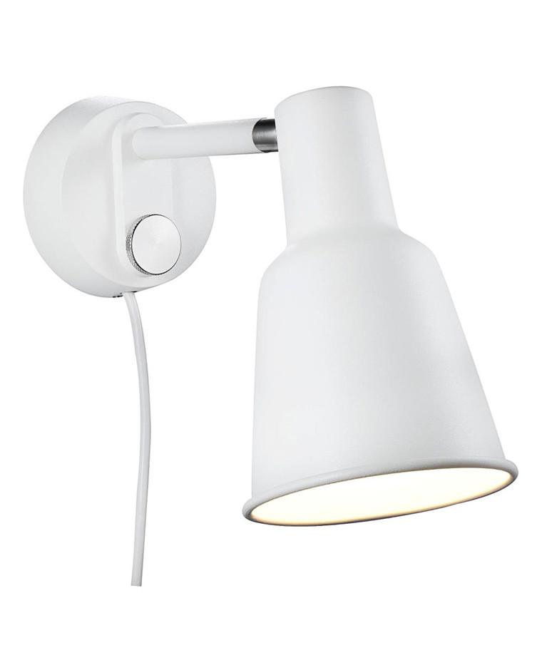 Patton Væglampe Hvid - Nordlux