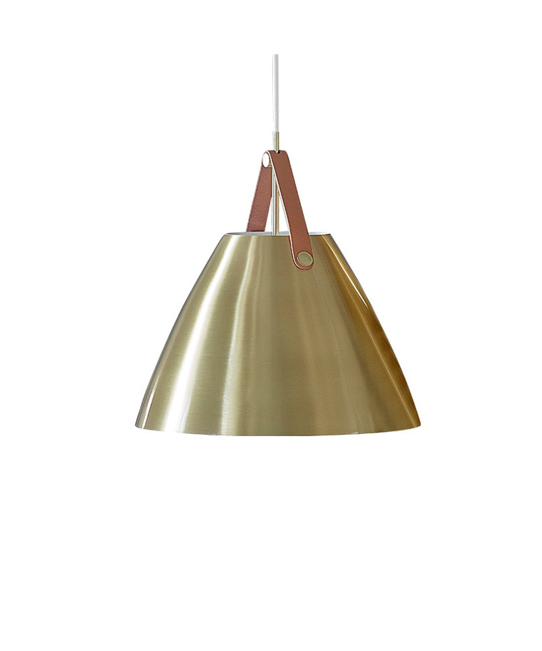 Strap 48 Pendel Lampe Messing - Nordlux