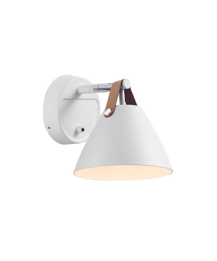 Strap 15 Væglampe Hvid - Nordlux