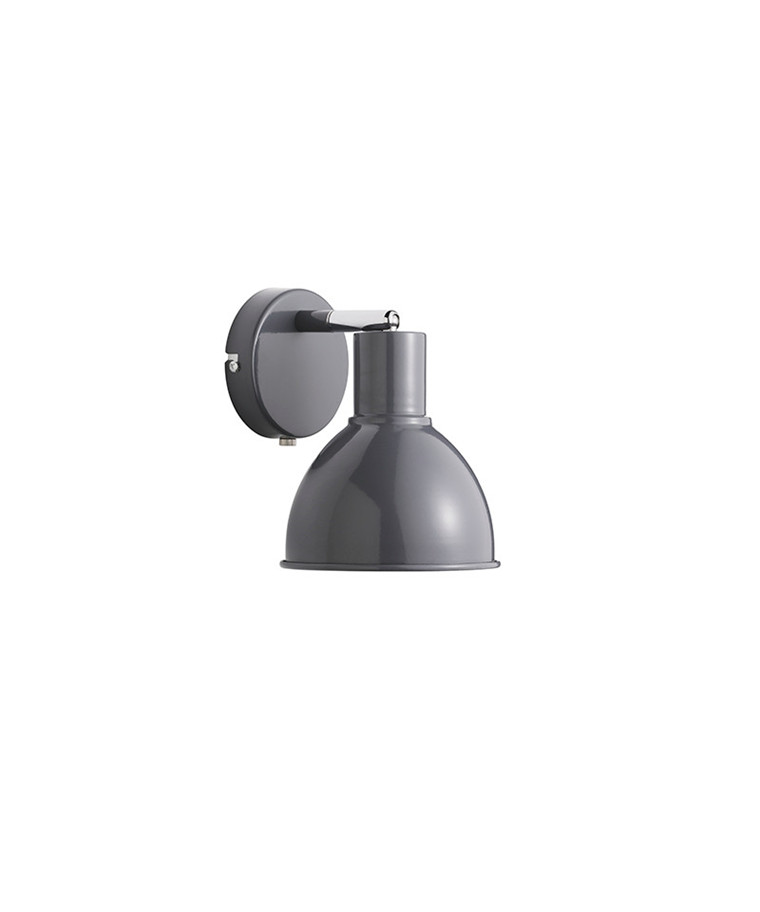 POP Væg E27 Antrasit Væglampe - Nordlux