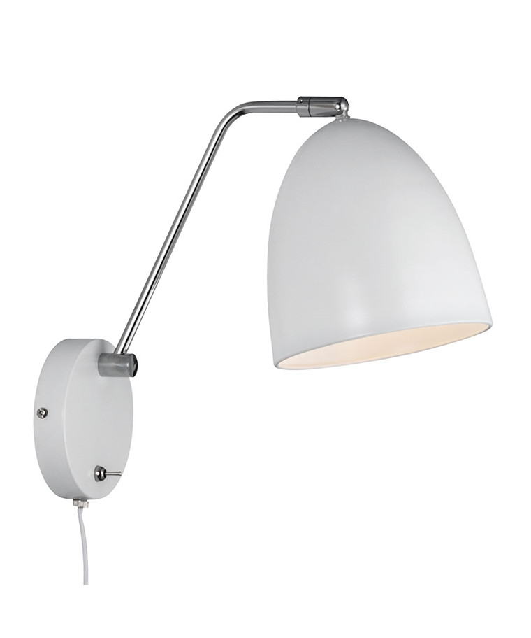 Alexander Væglampe Hvid - Nordlux