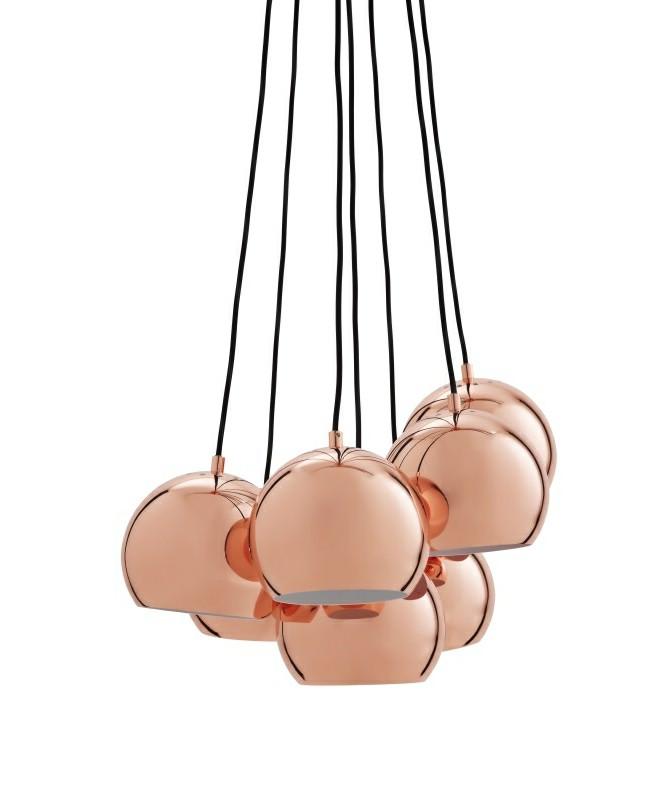 Ball Multi Pendel Kobber - Frandsen