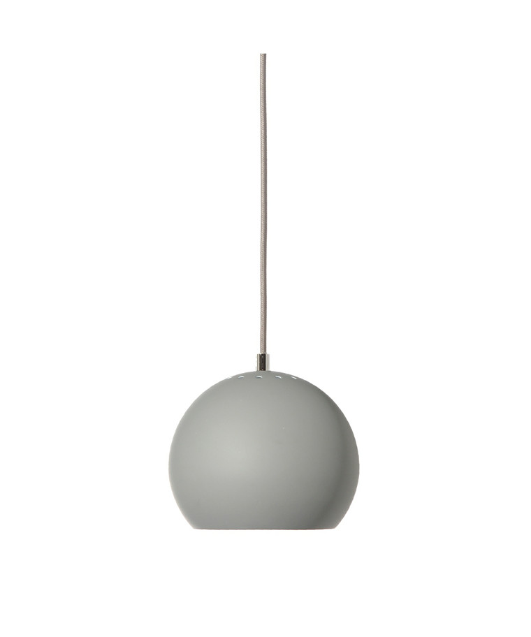 Ball Pendel Mat Lys Grå - Frandsen