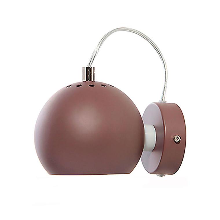 Ball Væglampe Mat Peppercorn - Frandsen
