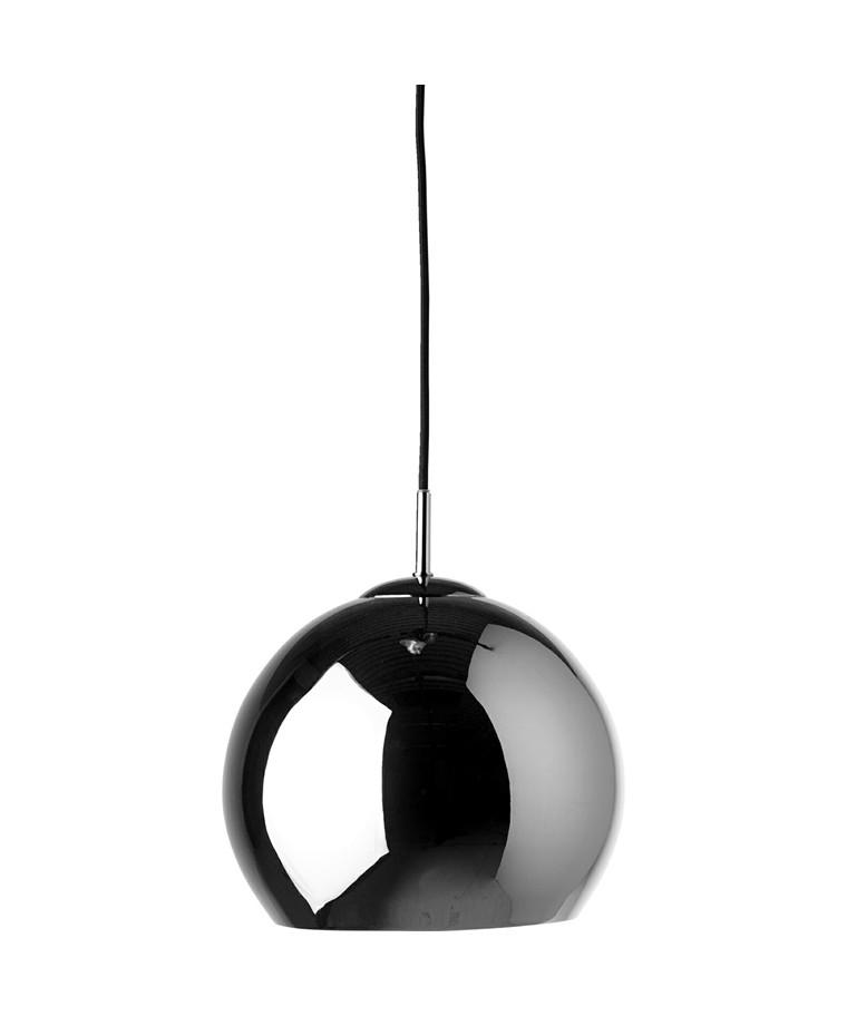 Ball Pendel Blank Sort Krom - Frandsen
