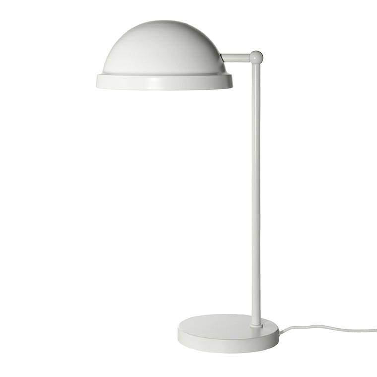 Bowler Bordlampe Mat Hvid - Frandsen