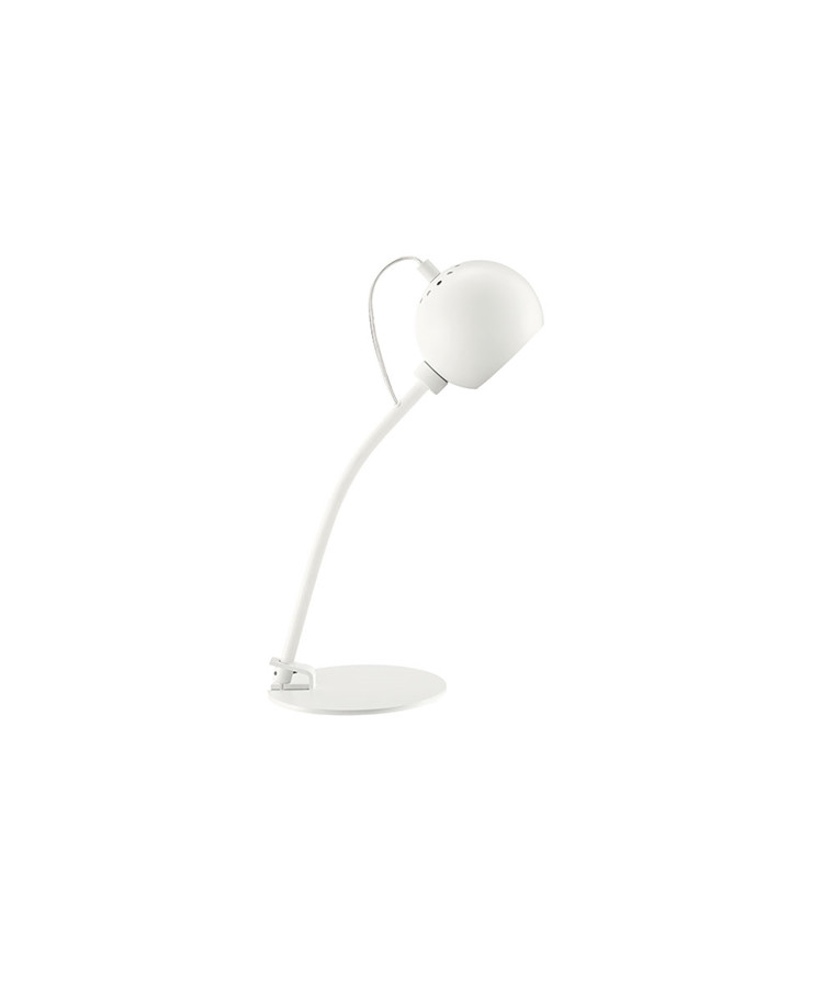 Ball Bordlampe Mat Hvid - Frandsen