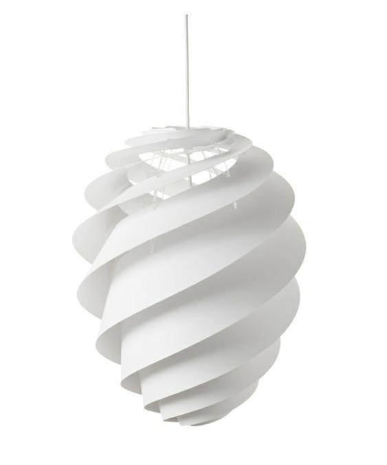 Swirl 2 Pendel Large Hvid - Le Klint