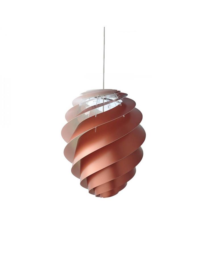 Swirl CP2 Pendel Small Kobber - Le Klint