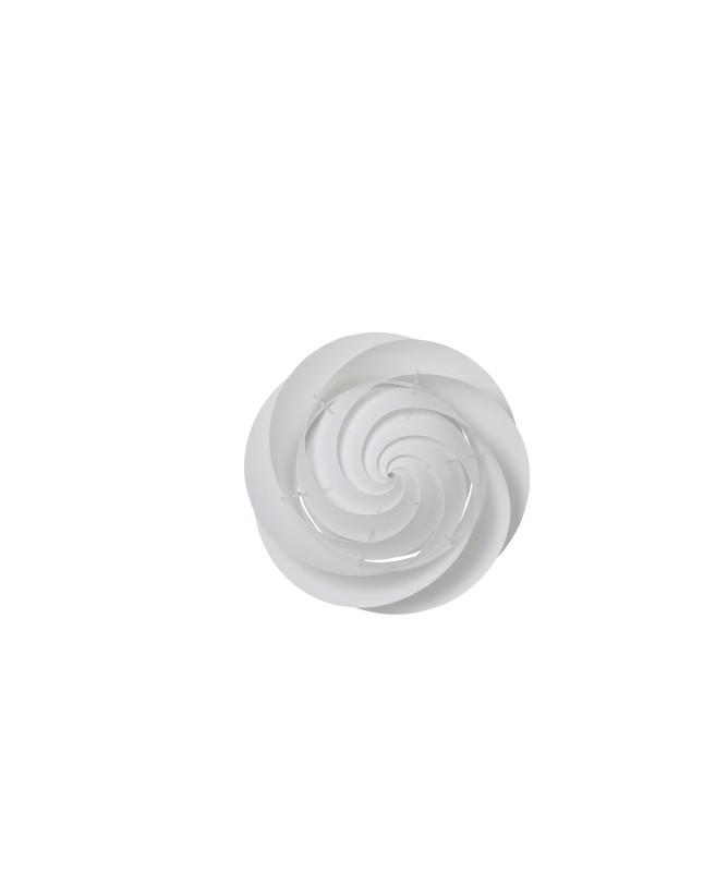 Swirl Loftlampe/Væglampe Small Hvid - Le Klint