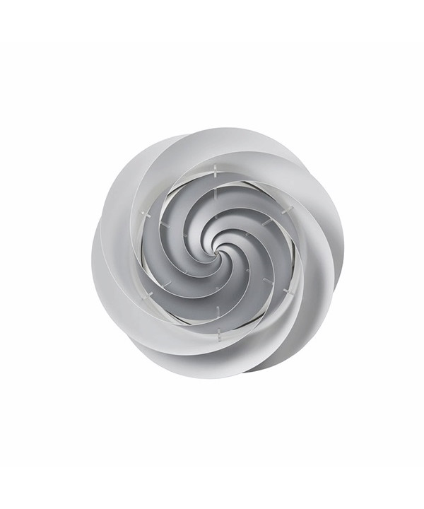 Swirl Væglampe/Loftlampe Ø37 Sølv - Le Klint