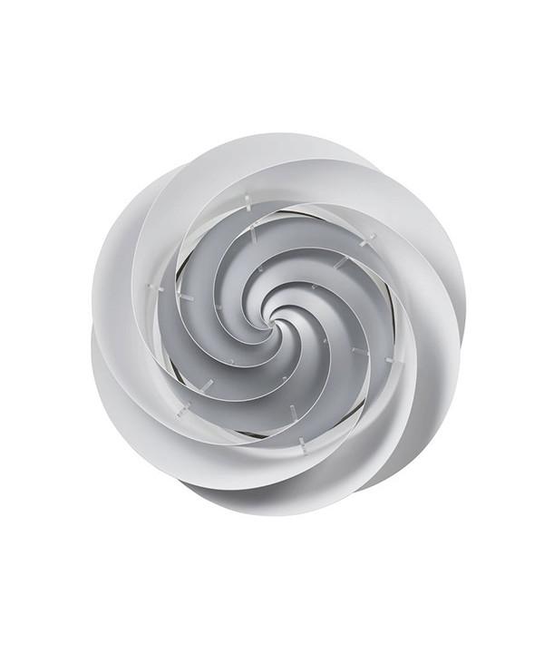 Swirl Væglampe/Loftlampe Ø75 Sølv - Le Klint