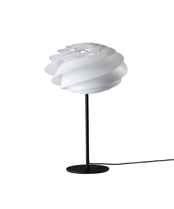 Swirl Bordlampe Sort/Hvid - Le Klint
