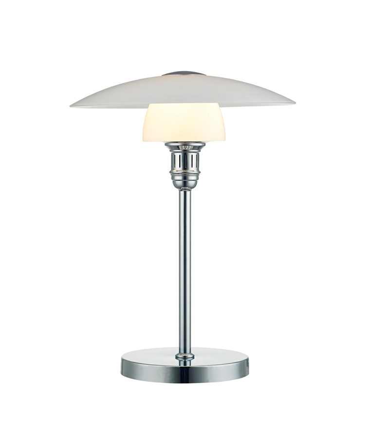 Bohus Bordlampe Opal/Krom - El-light
