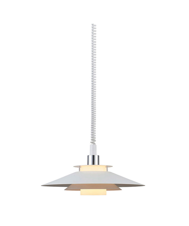 Rivoli Pendel Ø40cm m/Hejs Hvid - Halo Design