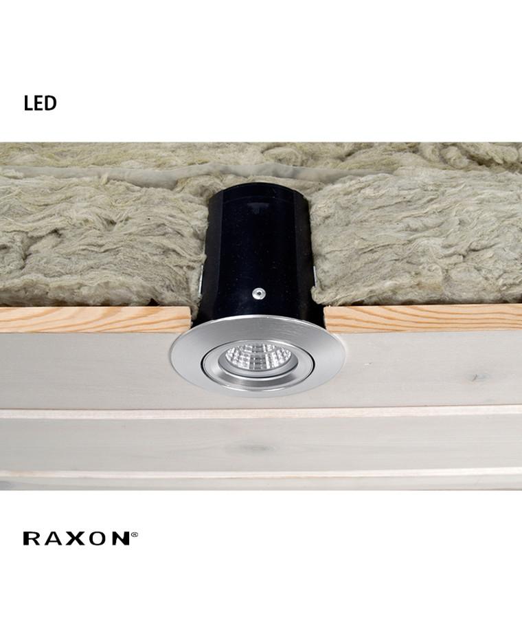 LD800 Safespot LED GU10 Downlight Alu - Raxon