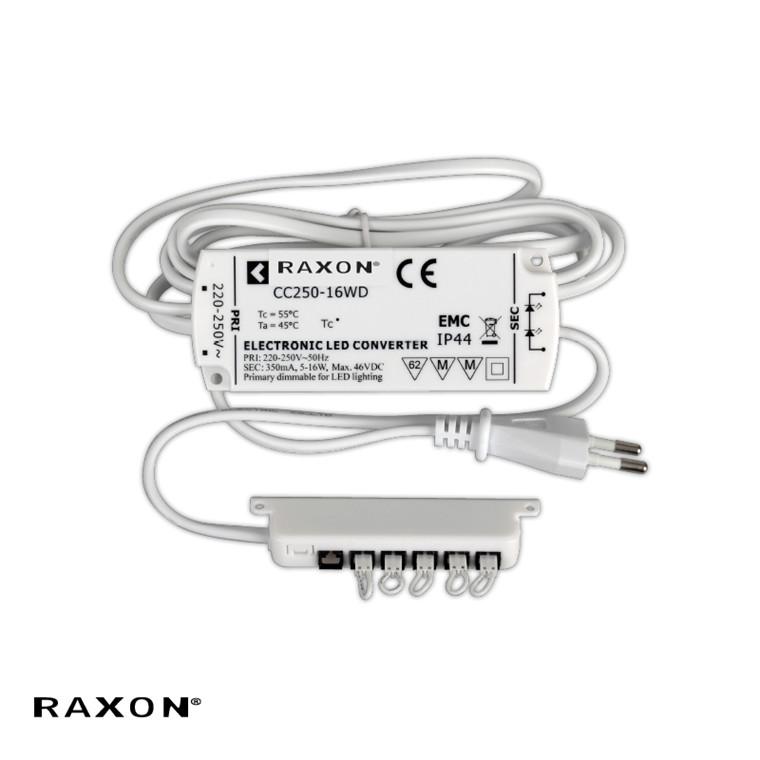 LD-Driver LED Dim 6P  Hvid - Raxon