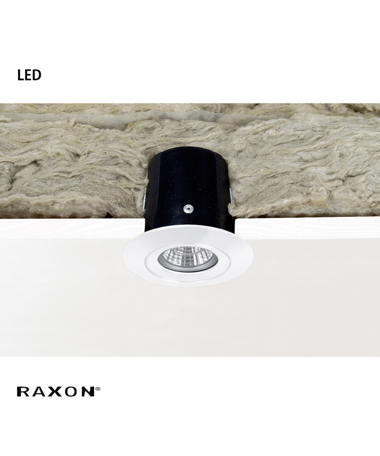LD600 Safespot LED GU10 Downlight Hvid - Raxon