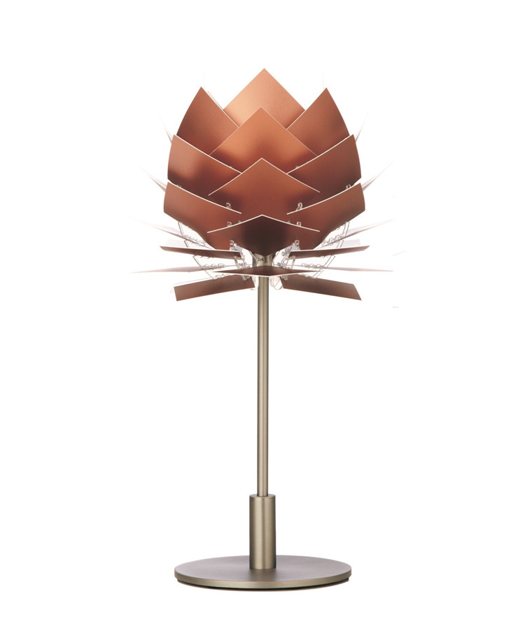 PineApple XS Bordlampe 12V Kobber Look - DybergLarsen