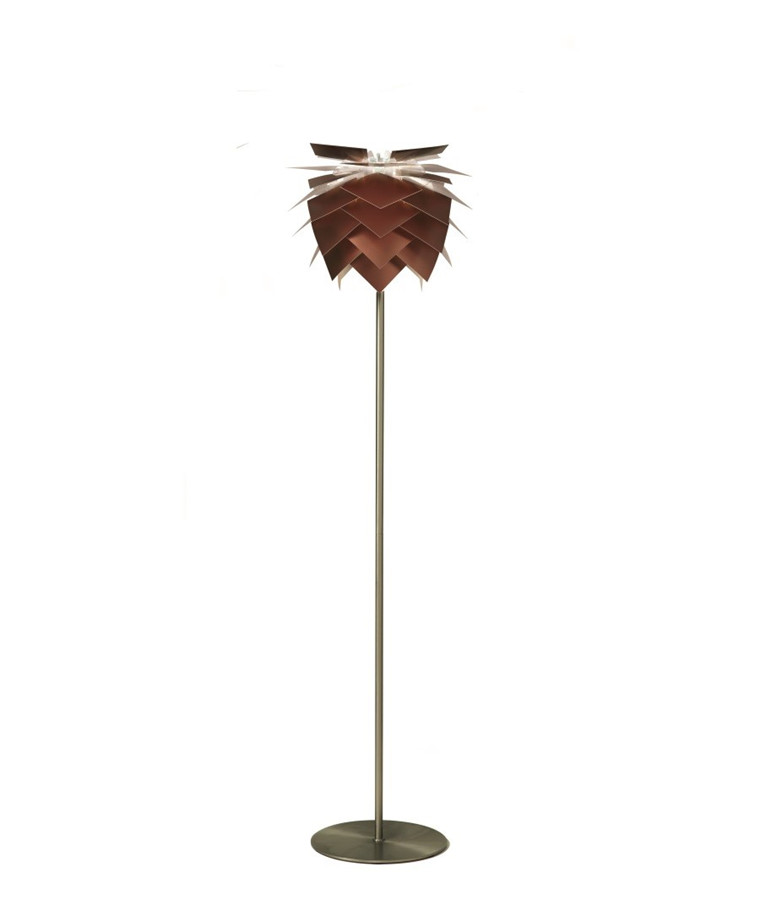 PineApple Small Gulvlampe Kobber Look - DybergLarsen