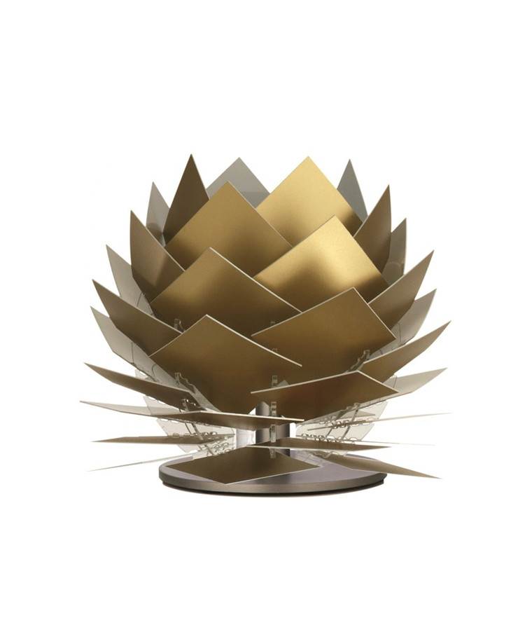 PineApple XS LED Lav Bordlampe Guld Look - DybergLarsen