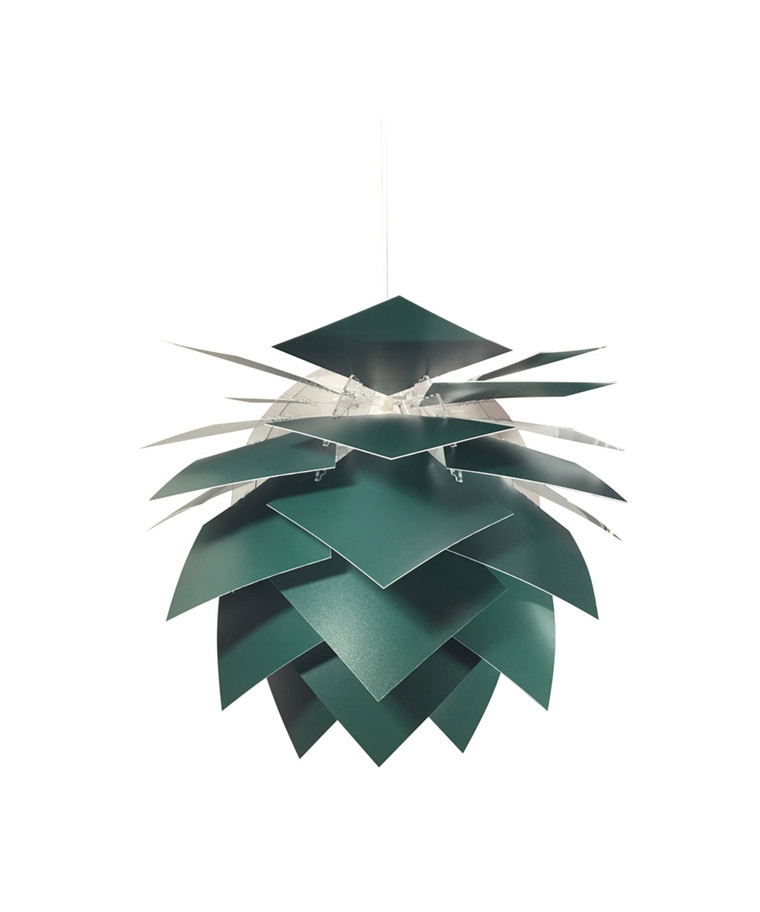 PineApple Medium Pendel Mørke Grøn - DybergLarsen