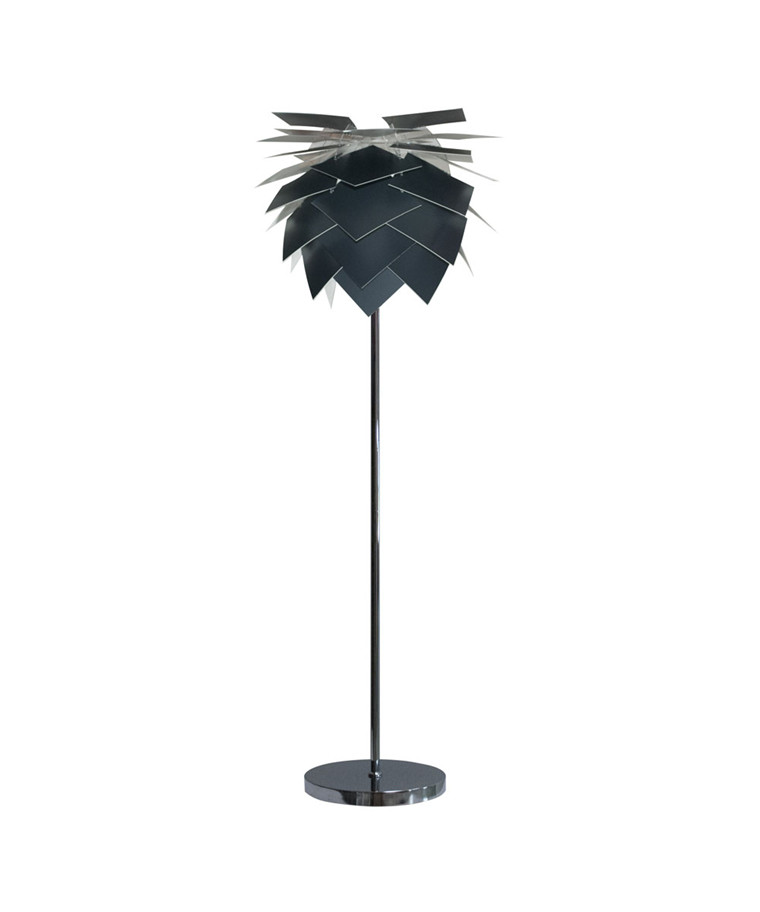 PineApple Medium Gulvlampe Anthracite Grå - DybergLarsen