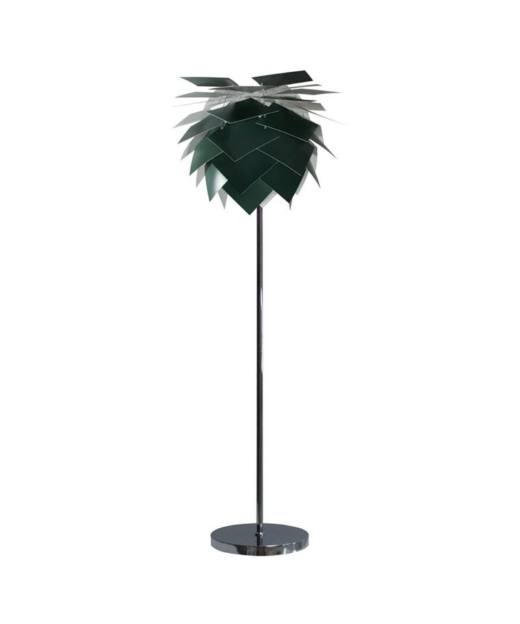 PineApple Medium Gulvlampe Mørke Grøn - DybergLarsen