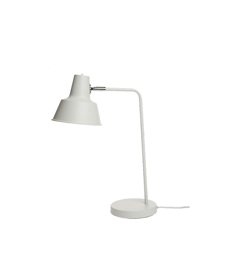New York Bordlampe Mat Hvid - Dyberg Larsen