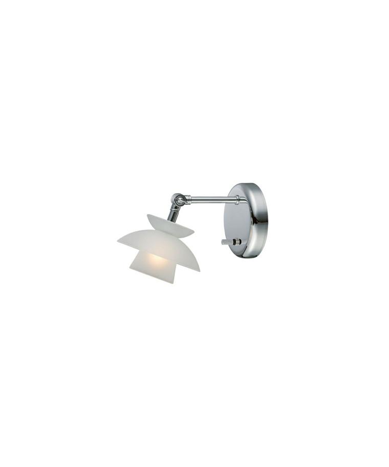 Mini Dallas Væglampe m/Dæmper - Halo Tech